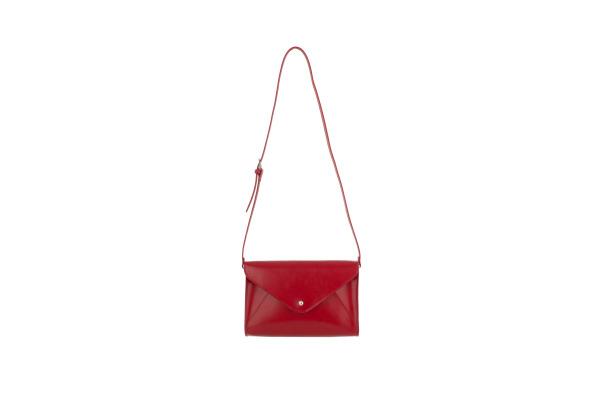 PAPERTH. small Envelope Bag PT06160 28x19x5cm scarlet