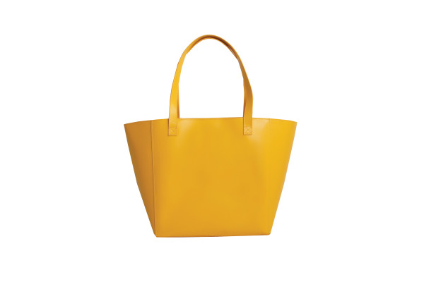 PAPERTH. Tote Bag PT98070 26x42x16cm yellow gold