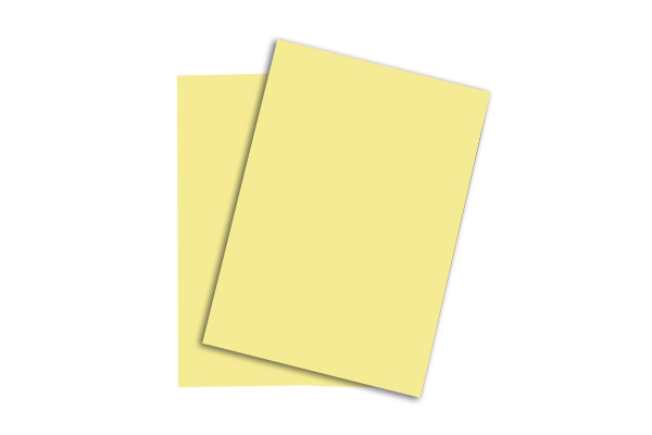 PAPYRUS Rainbow Papier FSC A4 88042298 hellgelb, 80g 500...