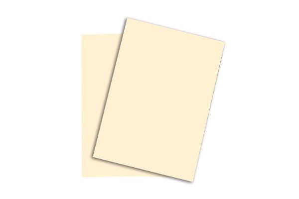 PAPYRUS Rainbow Papier FSC A4 88043123 hellchamois, 160g...