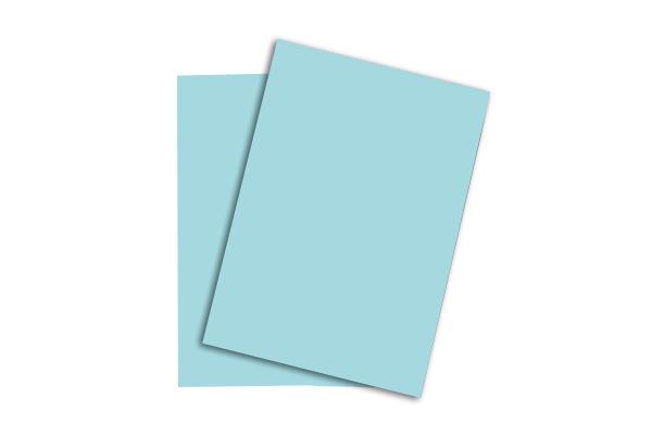 PAPYRUS Rainbow Papier FSC A4 88043143 mittelblau, 160g...