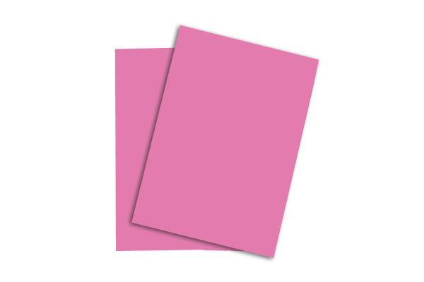 PAPYRUS Rainbow Papier FSC A4 88043186 80g, neon-pink 100 Blatt