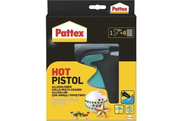 PATTEX Heissklebepistole PMHHP mit 6 Sticks
