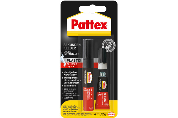 PATTEX Plastix Sekundenkleber PSA1C 2g