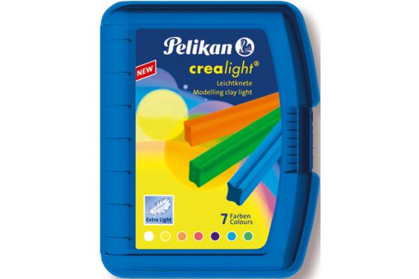 PELIKAN Knetbox Crealight 222/7B 7 Farben ass. Box
