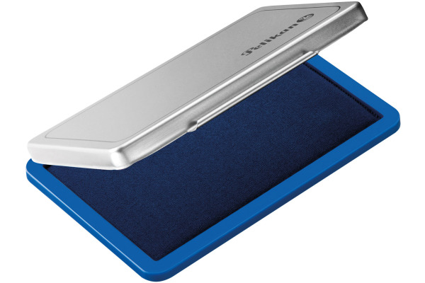 PELIKAN Metall-Stempelkissen blau 331017 Grösse2...