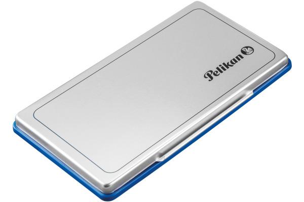 PELIKAN Metall-Stempelkissen blau 331124 Grösse1 16x9cm