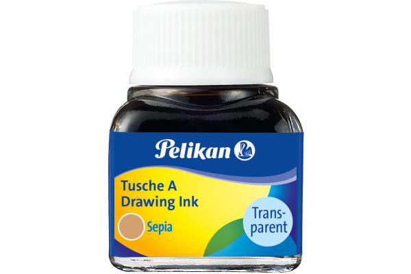 PELIKAN Tusche 10ml 523/15 sepia