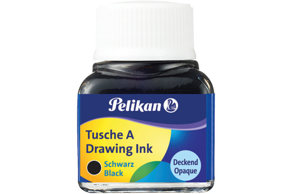 PELIKAN Tusche 10ml 523/17 schwarz