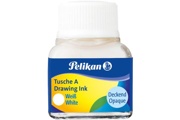 PELIKAN Tusche 10ml 523/18 weiss