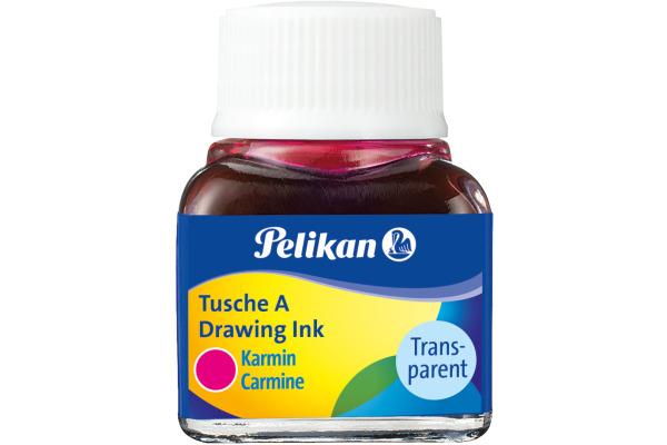 PELIKAN Tusche 10ml 523/2 karmin