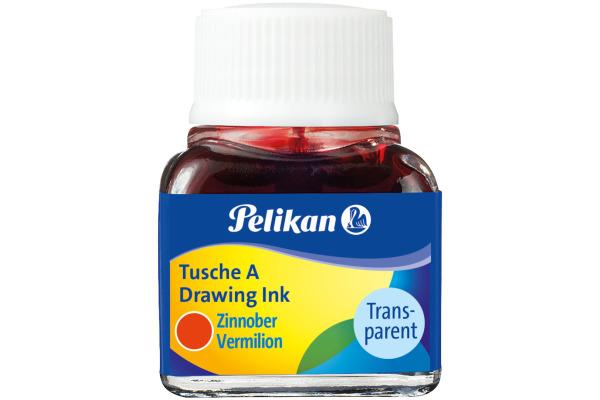 PELIKAN Tusche 10ml 523/3 zinnober