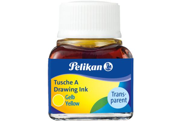PELIKAN Tusche 10ml 523/5 gelb