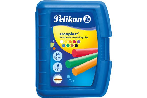 PELIKAN Kinderknete Creaplast blau 622415 300g 14 Farben
