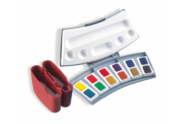 PELIKAN Aquarellfarben 725D/12 12 Farben