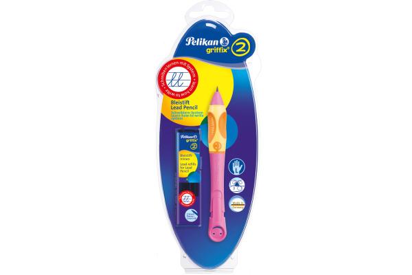 PELIKAN Bleistift Griffix 2014 HB 928754 berry