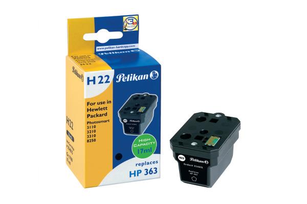 PELIKAN Tinte 363 HY H22 schwarz C8719EE zu HP PhotoSmart 3100 17ml