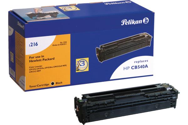 PELIKAN Toner-Modul schwarz CB540A zu HP CLJ CP 1215 2200 Seiten