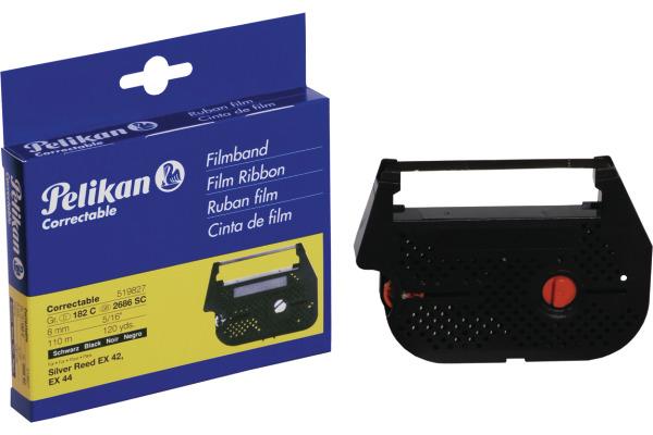 PELIKAN Farbband Correctable schwarz Gr.182C Silver Reed EX 42 8mm/110m