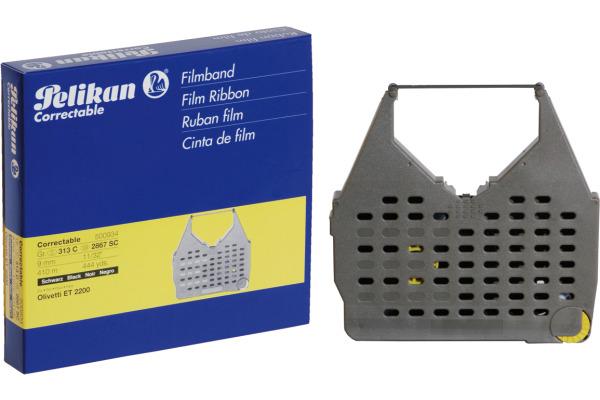PELIKAN Farbband Correctable schwarz Grösse313C zu Olivetti ET 2200 9mm 410m
