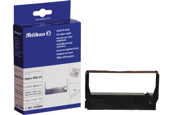 PELIKAN Farbband Nylon HD schwarz Gr.657 zu Epson ERC 23 13mm/2.3m