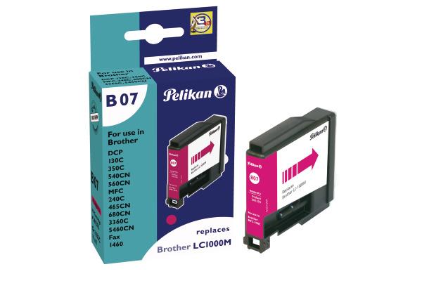 PELIKAN Tintenpatrone B07 magenta LC-1000M zu Brother MFC-240C