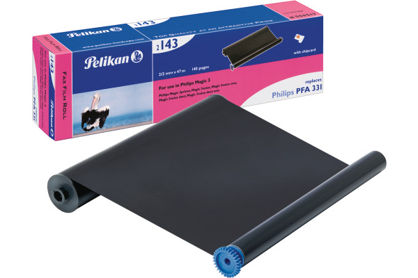PELIKAN TTR-Refill schwarz PFA331 zu Philips Magic 3 210mm/47m