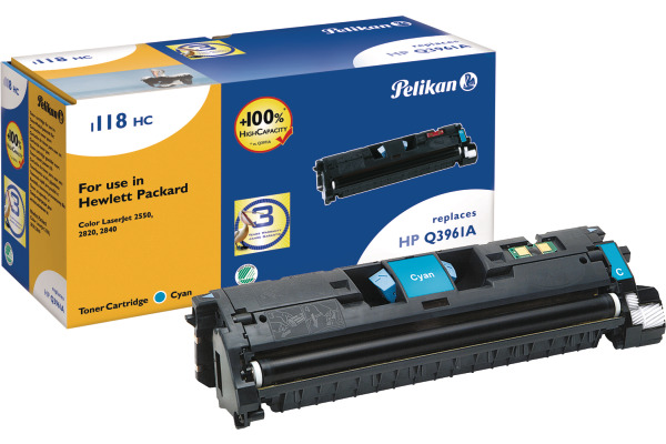 PELIKAN Toner-Modul cyan Q3961A zu HP CLJ 2550 4000 Seiten