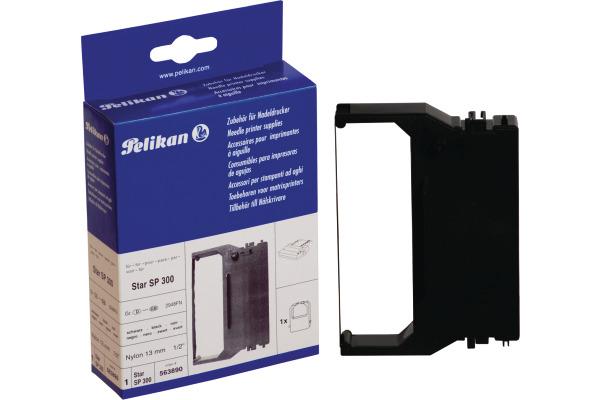 PELIKAN Farbband Nylon schwarz R9 123 zu Star SP 300 13mm...