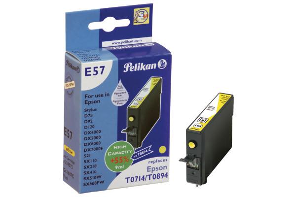 PELIKAN Tintenpatrone yellow T071440 zu Epson Stylus D78 9ml