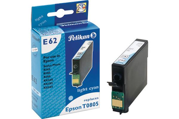 PELIKAN Tintenpatrone light cyan T080540 zu Epson Stylus R265 9ml