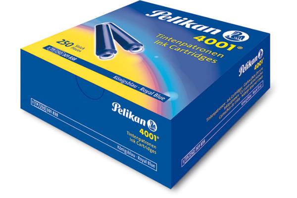 PELIKAN Tintenpatrone TP/250 blau 250 Stück