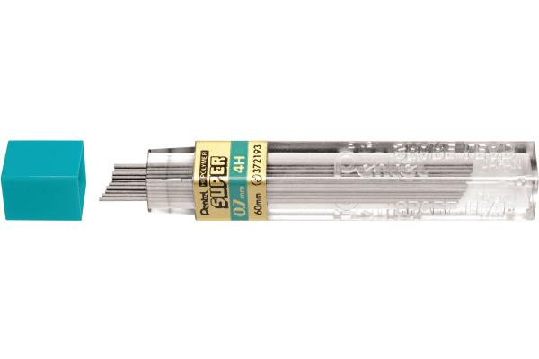 PENTEL Minen 4H 50-4H 0,7mm 12 Stück