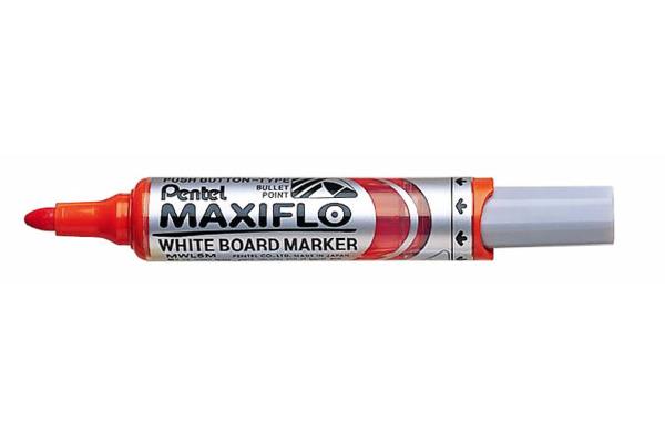 PENTEL Whiteboard Marker 6mm MWL5M-F orange