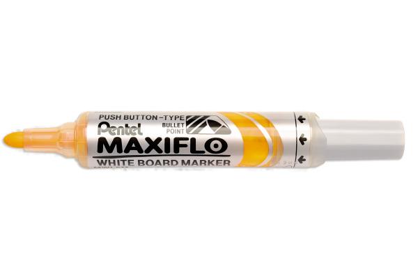 PENTEL Whiteboard Marker 6mm MWL5M-G gelb