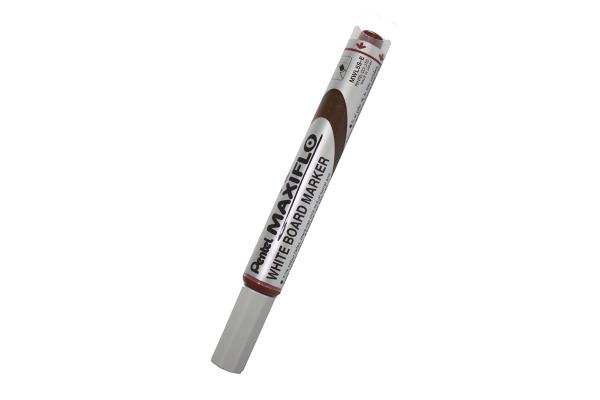 PENTEL Whiteboard Marker MAXIFLO 4mm MWL5S-E braun