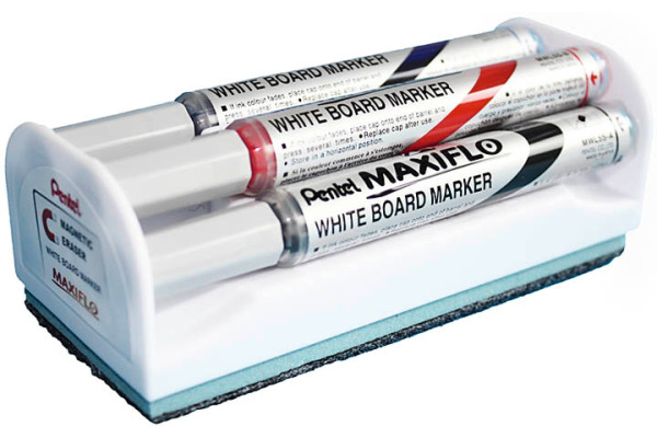 PENTEL Whiteboard Marker 4mm MWL5S4BOX 4 Farben, Box