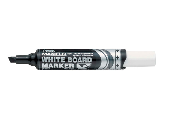 PENTEL Whiteb. Marker MAXIFLO 2/6mm MWL6-AO schwarz