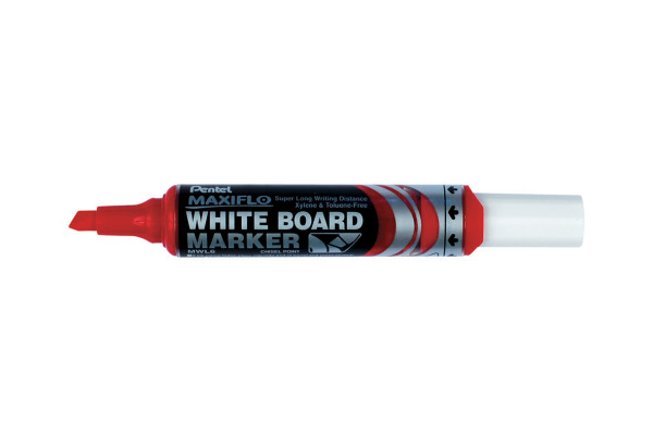 PENTEL Whiteb. Marker MAXIFLO 2/6mm MWL6-BO rot