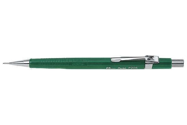 PENTEL Druckbleistift Sharp 0,5mm P205-D grün mit Radiergummi
