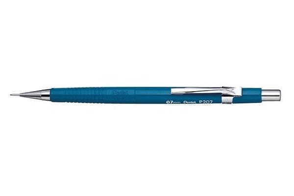 PENTEL Druckbleistift Sharp 0.7mm P207-C blau mit...