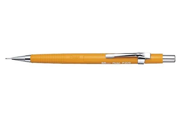 PENTEL Druckbleistift Sharp 0.9mm P209-G gelb mit...