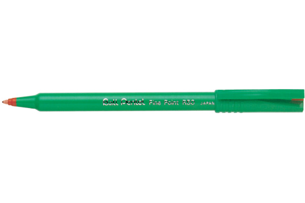 PENTEL Rollerball R50 0.8mm R50-B rot