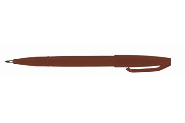 PENTEL Faserschreiber Sign Pen 2.0mm S520-E braun
