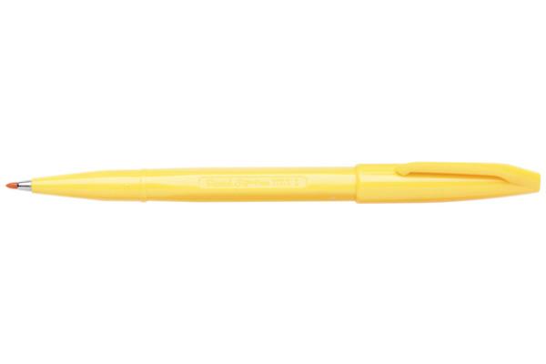 PENTEL Faserschreiber Sign Pen 2.0mm S520-G gelb