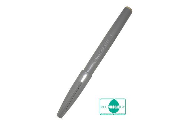 PENTEL Faserschreiber Sign Pen 2.0mm S520-N grau