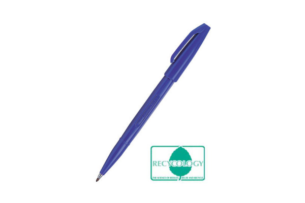 PENTEL Faserschreiber Sign Pen 2.0mm S520C blau