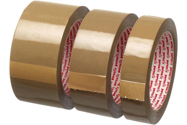 PERMAFIX Verpackungsband 25mm×66m 16816 braun
