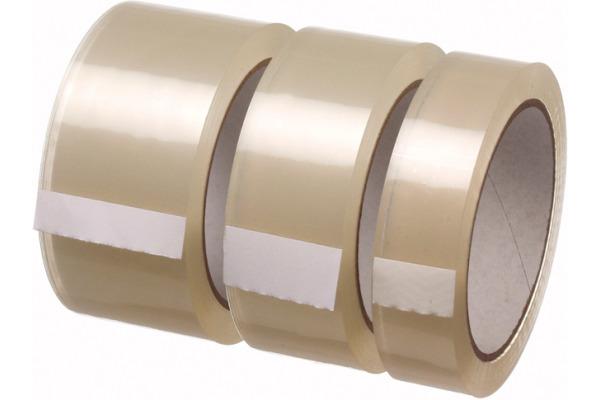 PERMAFIX Verpackungsband 25mm×66m 23780 transparent