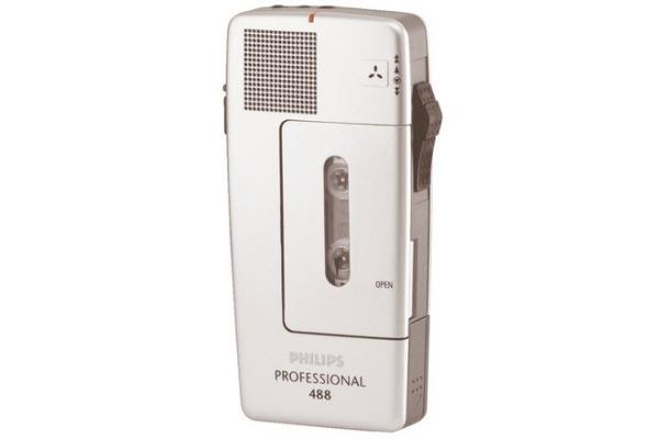 PHILIPS Handdiktiergerät LFH488 Professional Pocket Memo